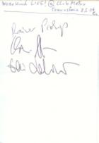Wedekind Autogramm - LIVE at Club Metropolitain !