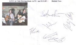 Rabula Tasa - LIVE at Club Metropolitain !
