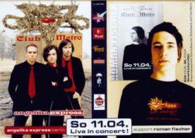 Angelica Express + Roman Fischer at Club Metropolitain - LIVE!