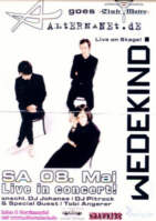 Wedekind - LIVE at Club Metro