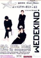 Wedekind - LIVE at Club Metro