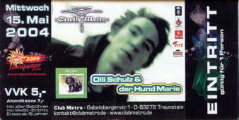 Olli Schulz und sein Hund Marie  LIVE! at Club Metropolitain